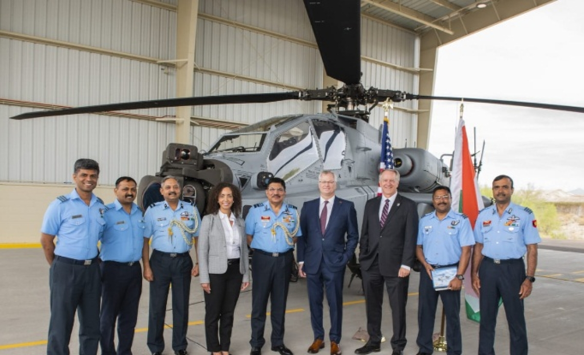 IAF gets first Apache Guardian attack helicopter