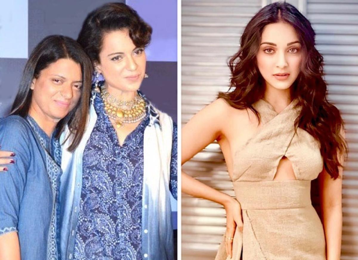 Rangoli Chandel calls Kiara Advani's next film 'Indoo Ki Jawani' SEXIST