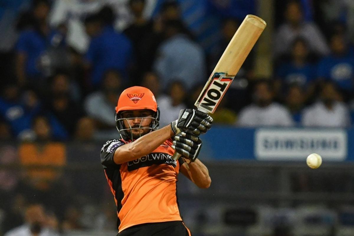 Sunrisers Hyderabad cricketer Manish Pandey
