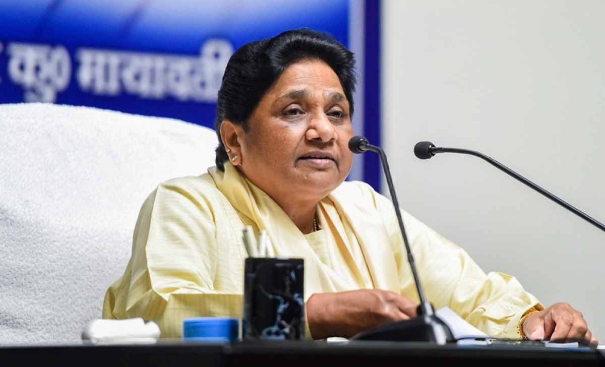 BJP forced EC to ban campaigning in WB: Mayawati