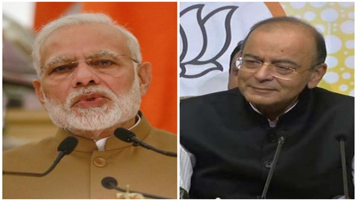 PM Modi meets Jaitley after his decision to opt out of new govt