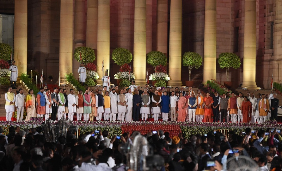 PM Narendra Modi to hold meeting with new cabinet ministers at Rashtrapati Bhavan today