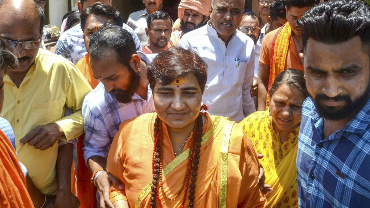 How BJP leapt to Pragya Thakur's rescue for calling Mahatama's murderer a 'deshbhakt' in Parliament