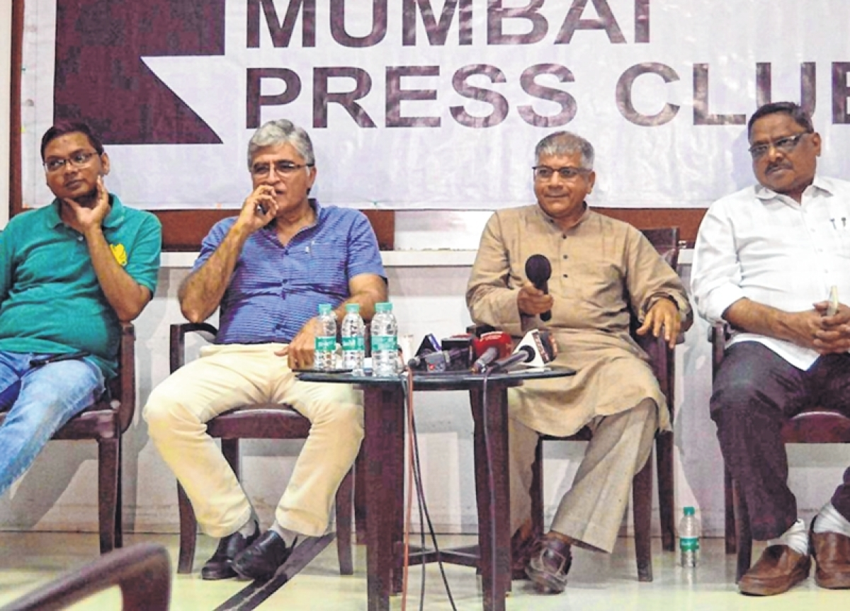 "Deve Gowda could be ""dark horse"" for PM post: Prakash Ambedkar"