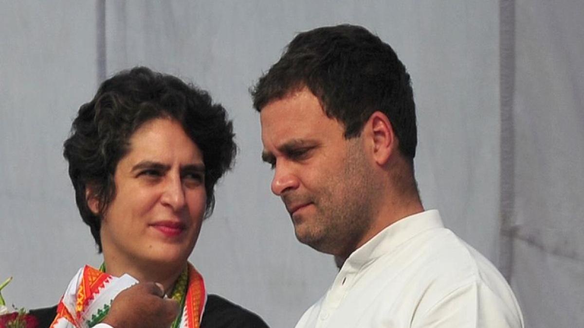 LS results: Priyanka meets Rahul as Congress stares at defeat