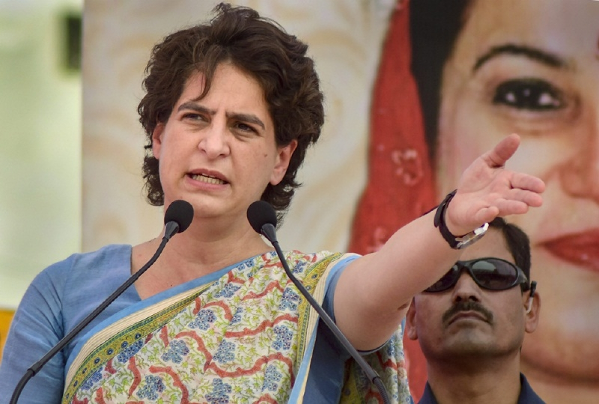 Priyanka Gandhi reprimands Congress workers for not giving their best