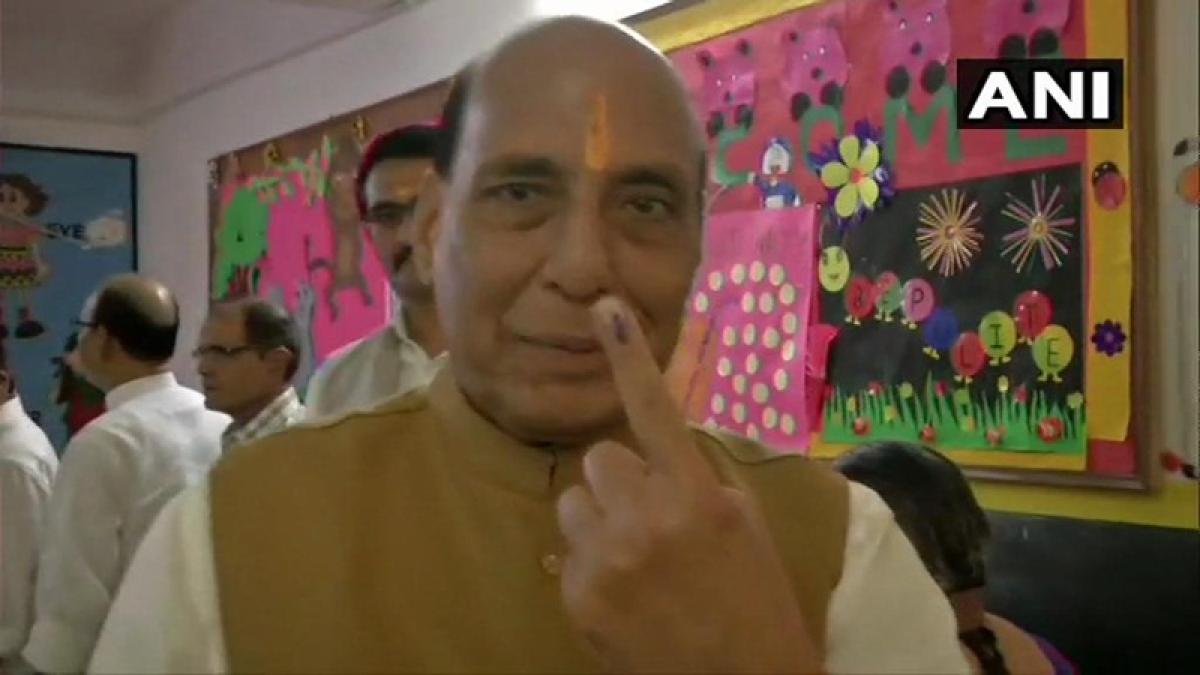 Lok Sabha Elections 2019 phase 5: Rajnath Singh, Mayawati, Yashwant Sinha among early voters