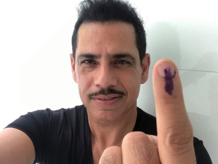 Photo Credit: Robert Vadra Twitter account