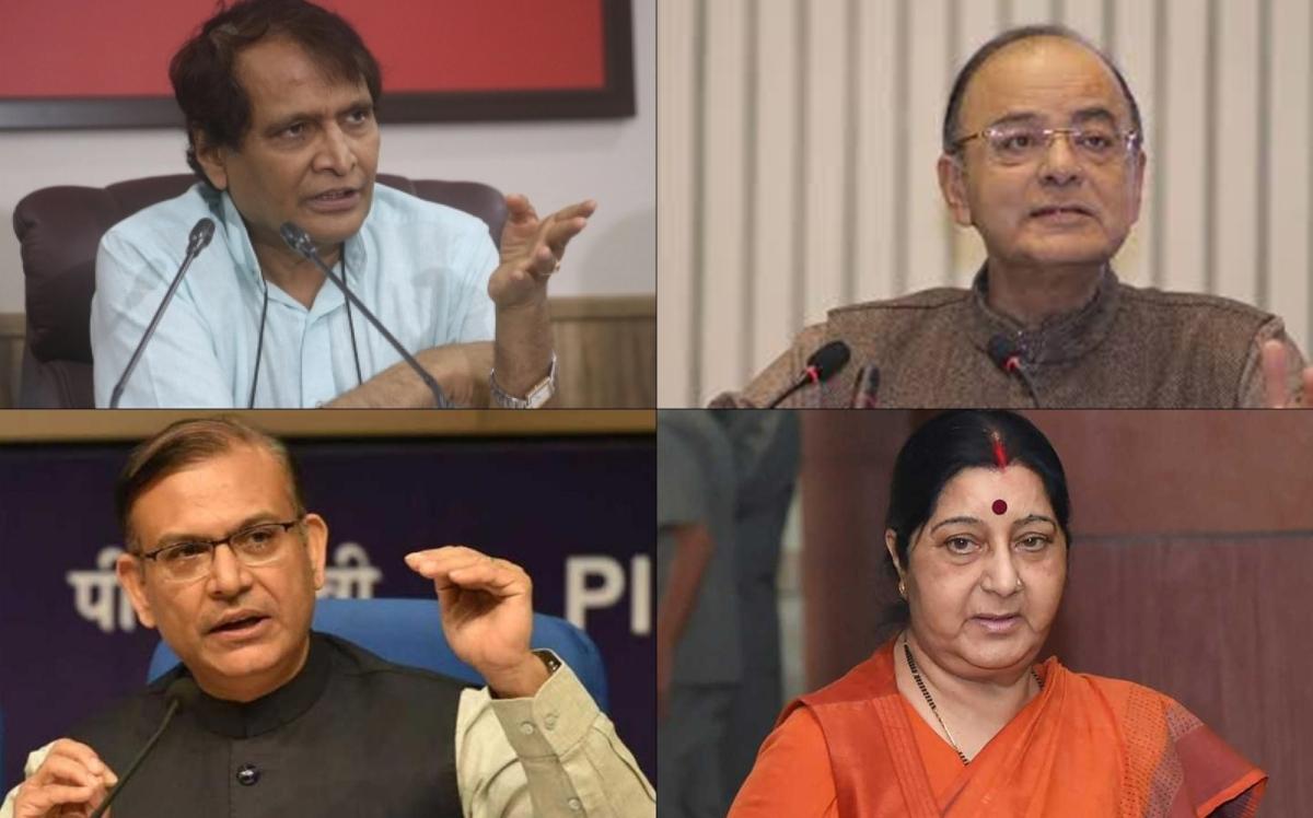 Modi 2.0: No Suresh Prabhu, Jayant Sinha in cabinet, Sushma Swaraja hints retirement