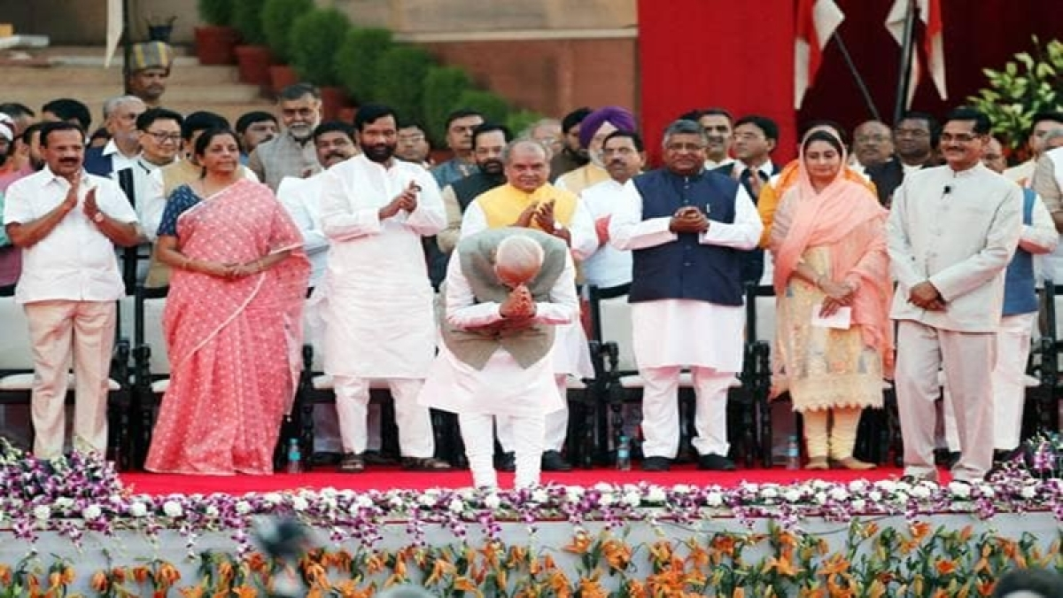 List of Cabinet Ministers after Narendra Modi's swearing-in Ceremony
