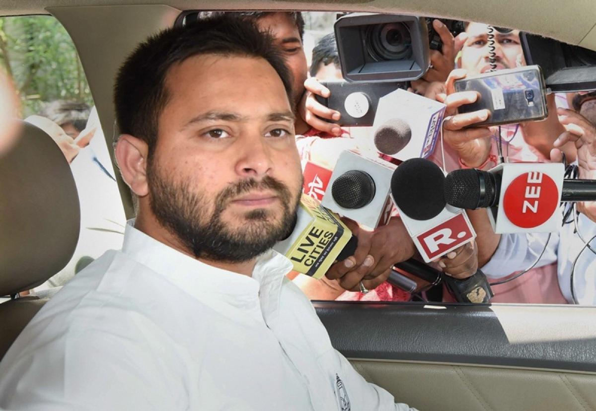 PM Narendra Modi should visit farmers instead of attending weddings of celebrities: Tejashwi Yadav