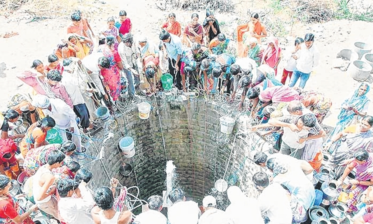 Maharashtra: Water crisis returns to haunt people of Latur