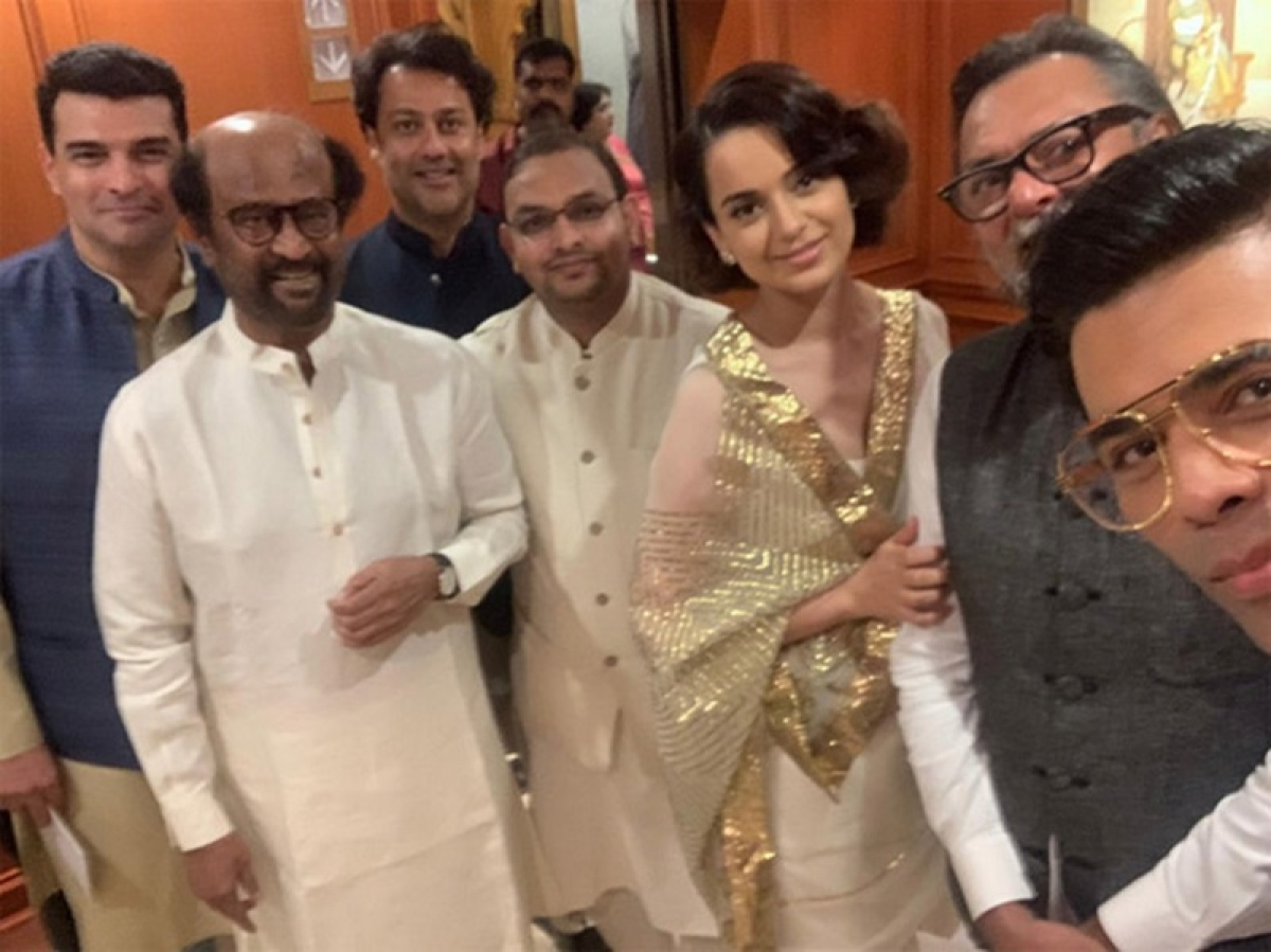 Only Modi can bring Kangana Ranaut and Karan Johar in one frame