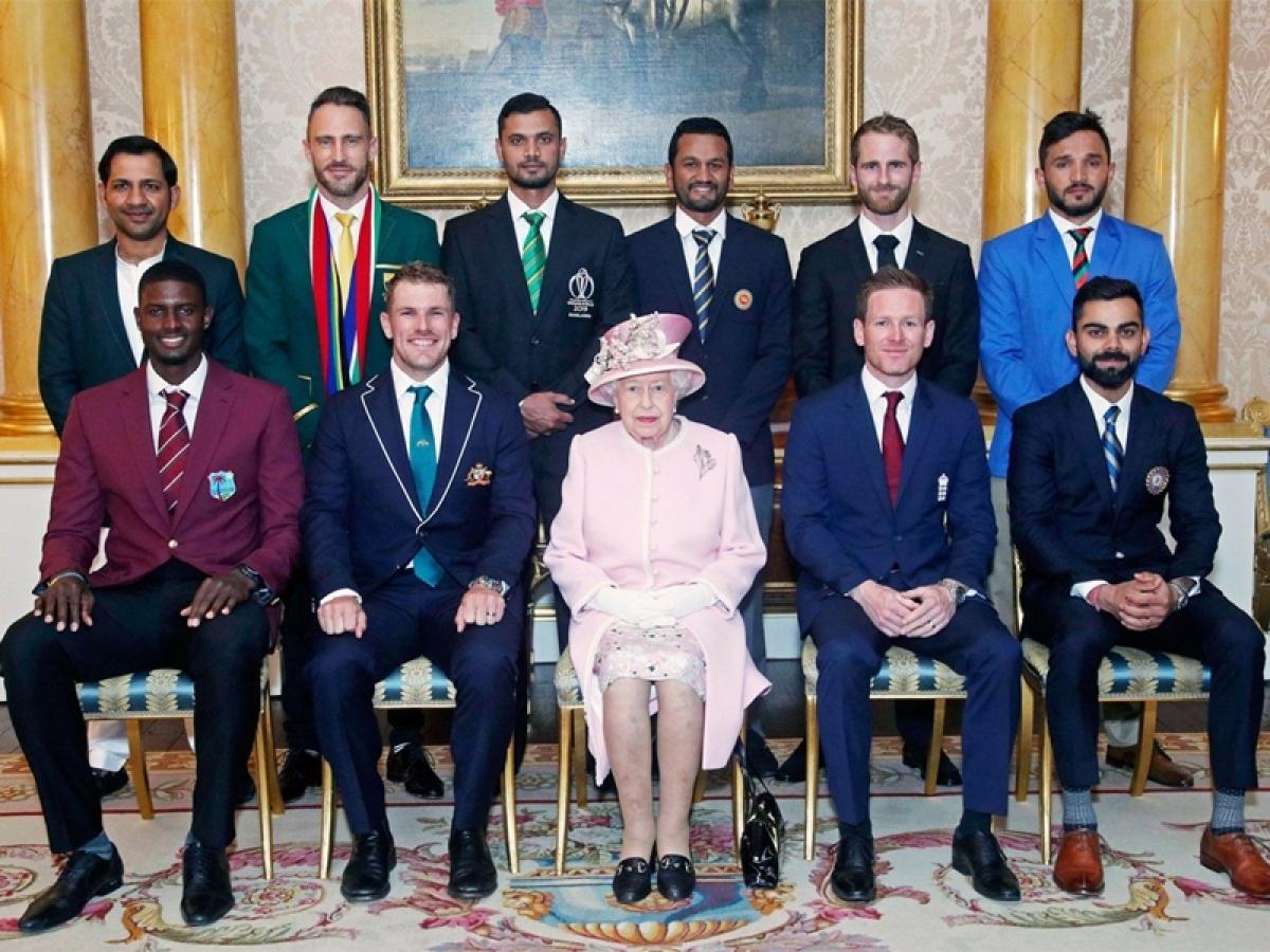 World Cup 2019: Virat Kohli, captains of all teams meet Queen Elizabeth at Buckingham Palace