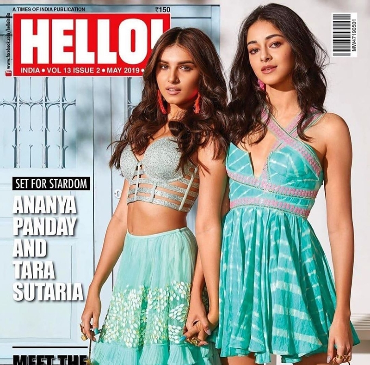 Ananya and Tara shine in latest Hello! Magazine cover