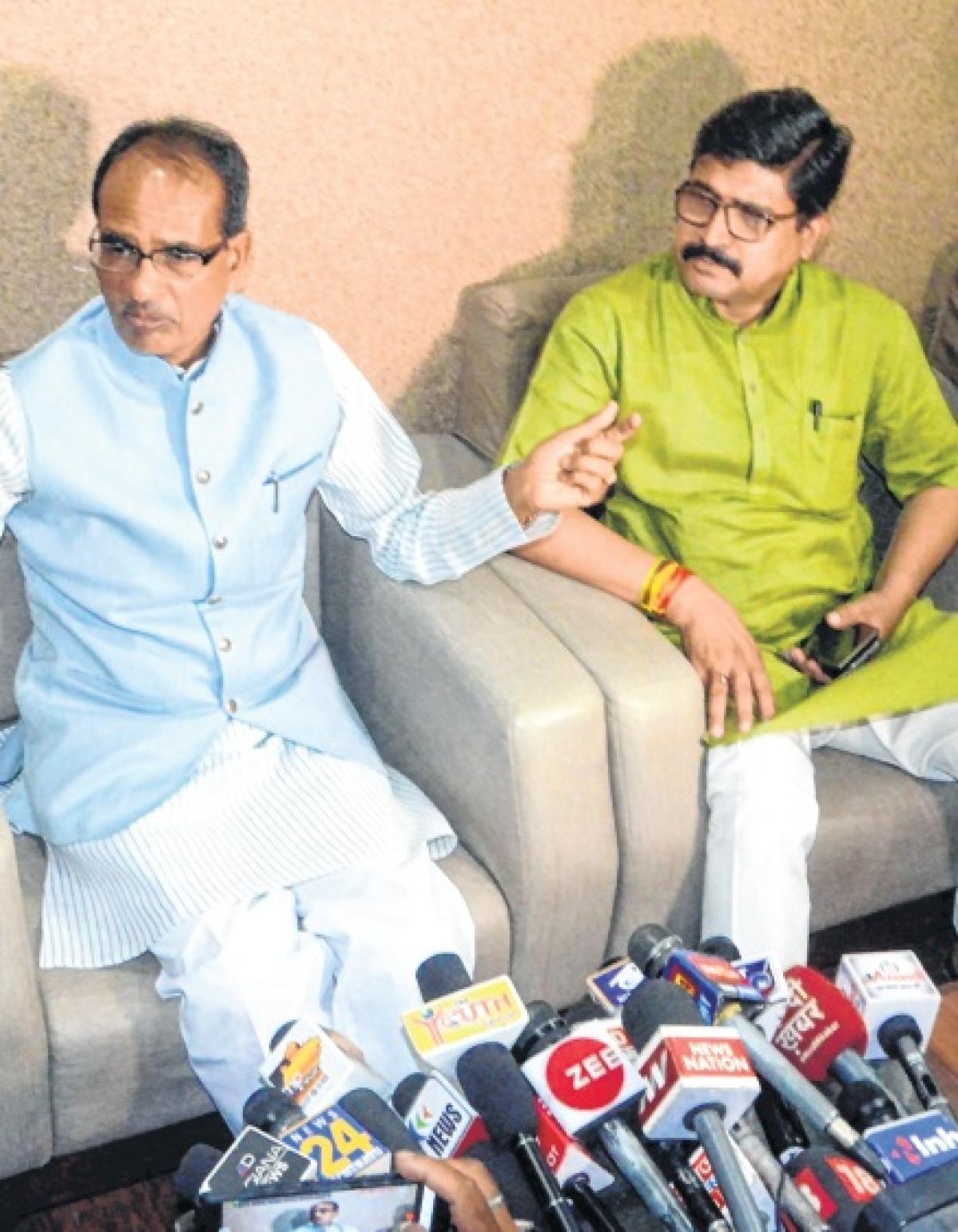Bhopal: BSP, SP and Congress would bring govt down: Shivraj Singh Chouhan