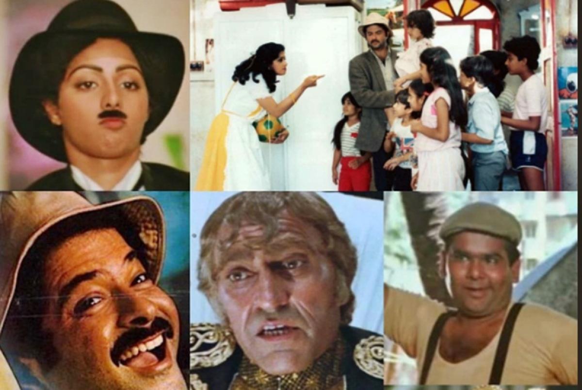 Anil Kapoor dedicates 32nd anniversary of 'Mr. India' to Veeru Devgan