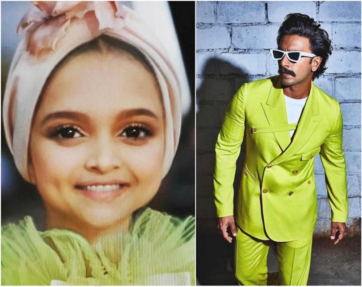 Ranveer Singh uses baby face filter on Deepika Padukone's Cannes 2019 red carpet look