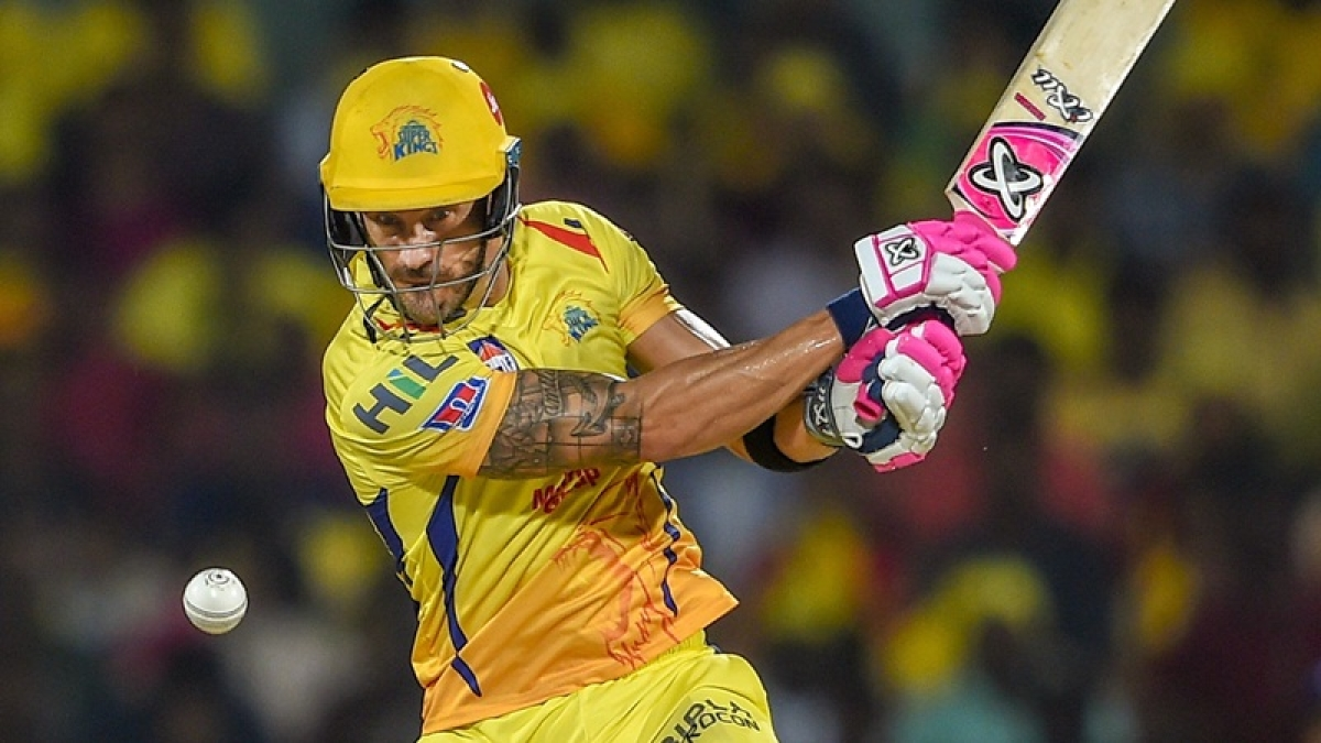 IPL 2019: Watson thanked me for scoring runs quickly : Faf du Plessis