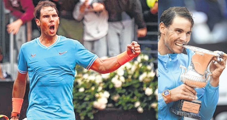 Novak Djokovic apart: Rafael Nadal is the emperor of rome