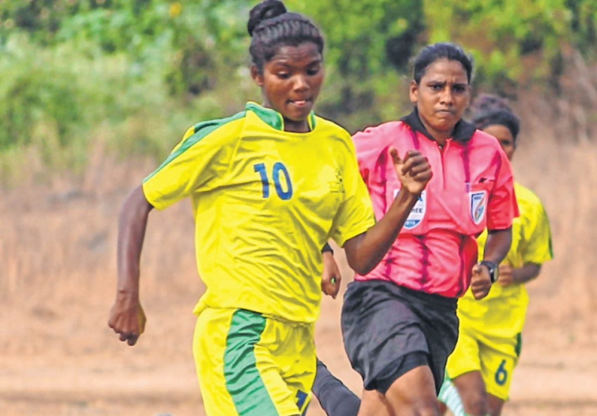 On the football pitch, feminism flourishes in rural India