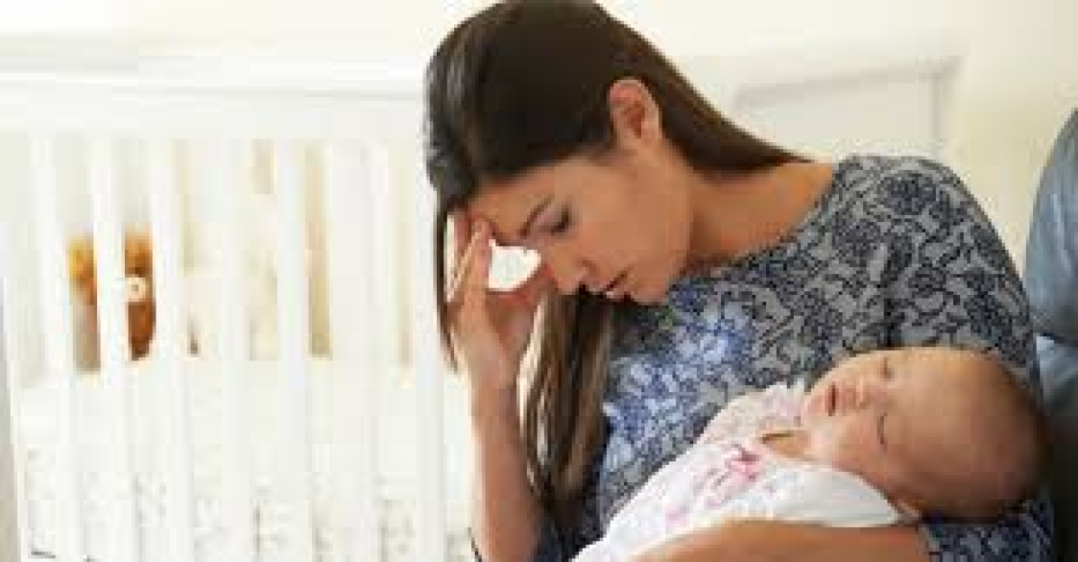 Mom's stress can affect  male offspring's fertility