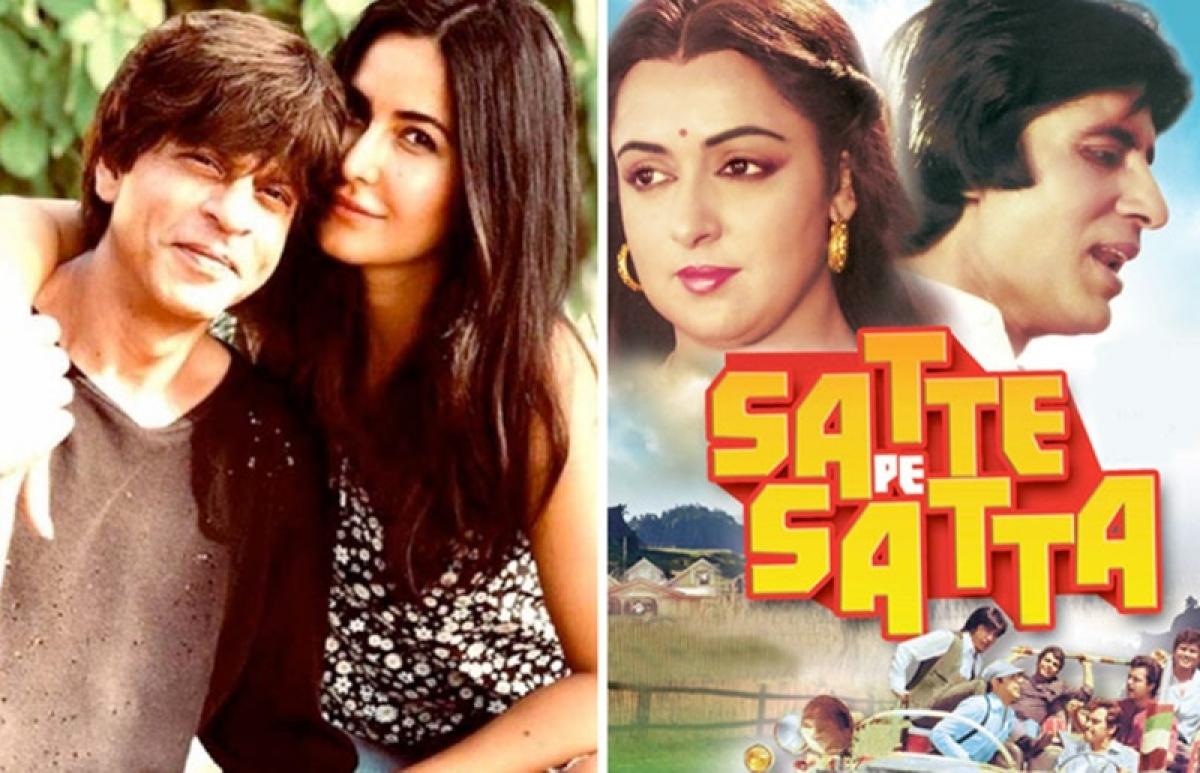 Shah Rukh Khan and Katrina Kaif to collaborate with Rohit Shetty, Farah Khan for Satte Pe Satta Remake