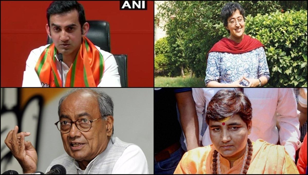Gambhir vs Atishi, Digvijaya vs Sadhvi: Top 10 political battles to watch out for in 6th phase of LS elections