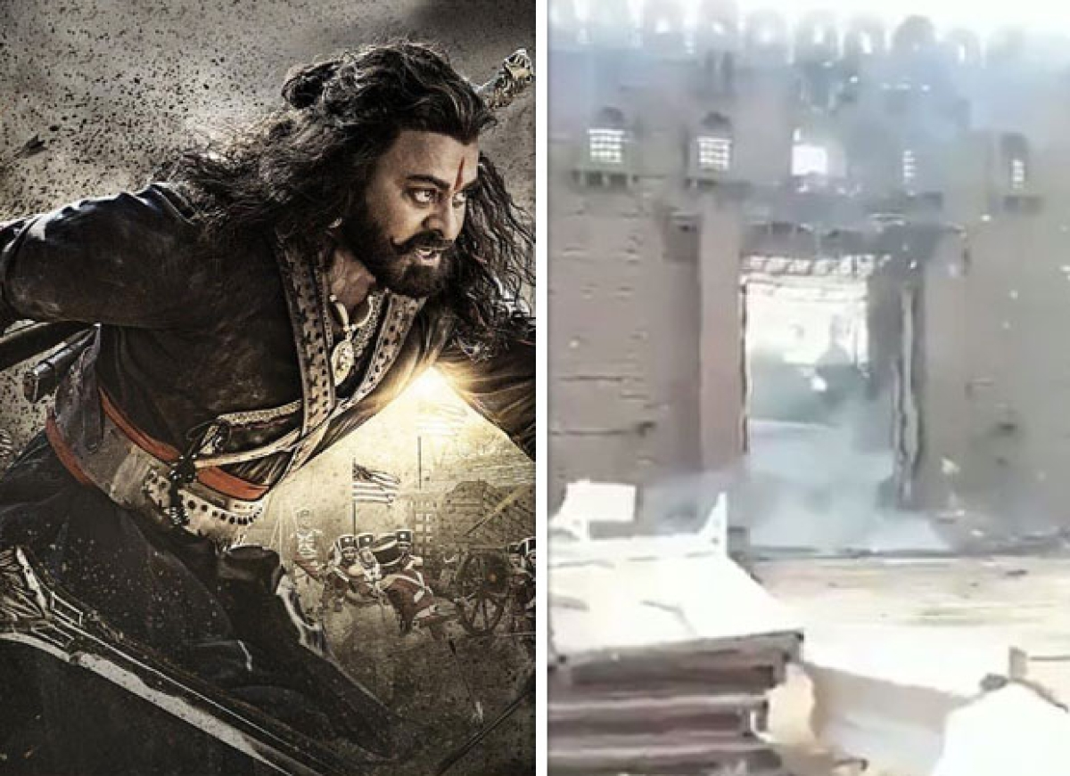 Sye Raa Narasimha Reddy: Fire breaks out on the sets damage property worth Rs. 2 crore