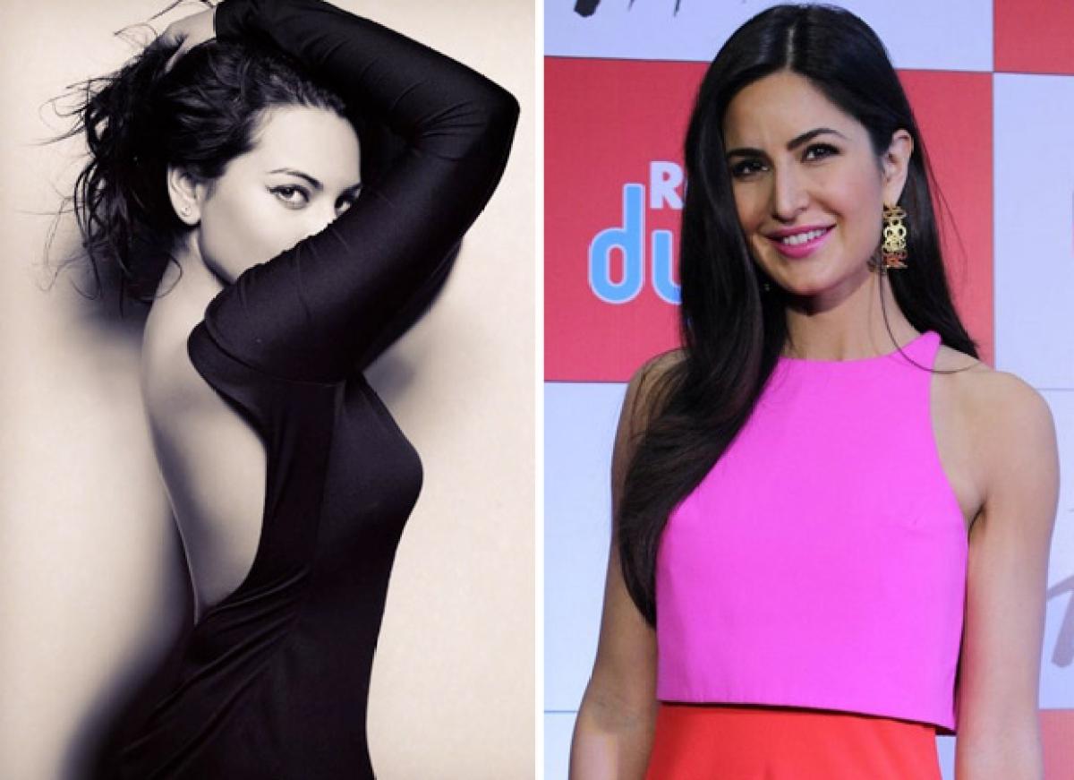 Katrina Kaif has a hilarious reaction to Sonakshi Sinha's recent post and we wonder why!
