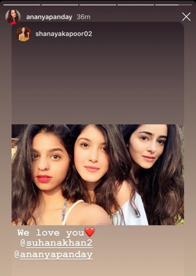 Ananya Pandey wishes her third Charlie's Angel Suhana Khan, Happy Birthday