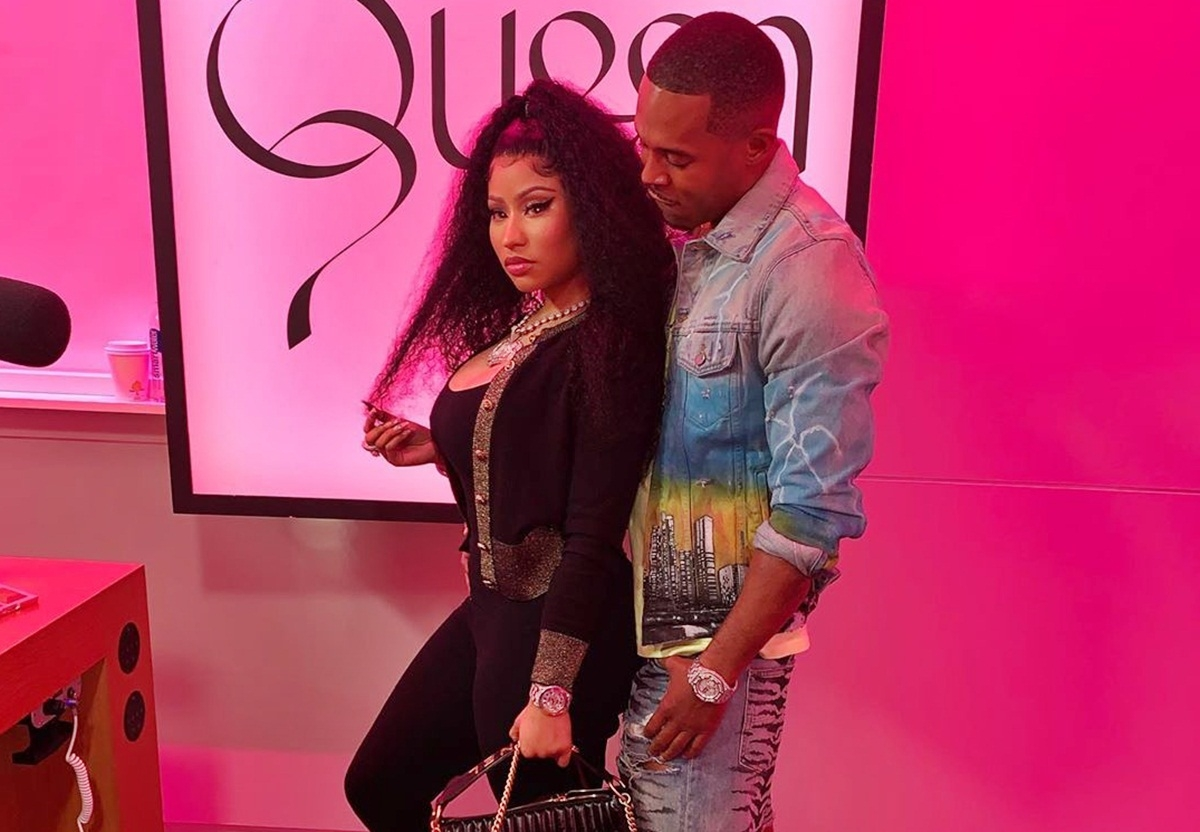 Image result for nicki minaj and kenneth