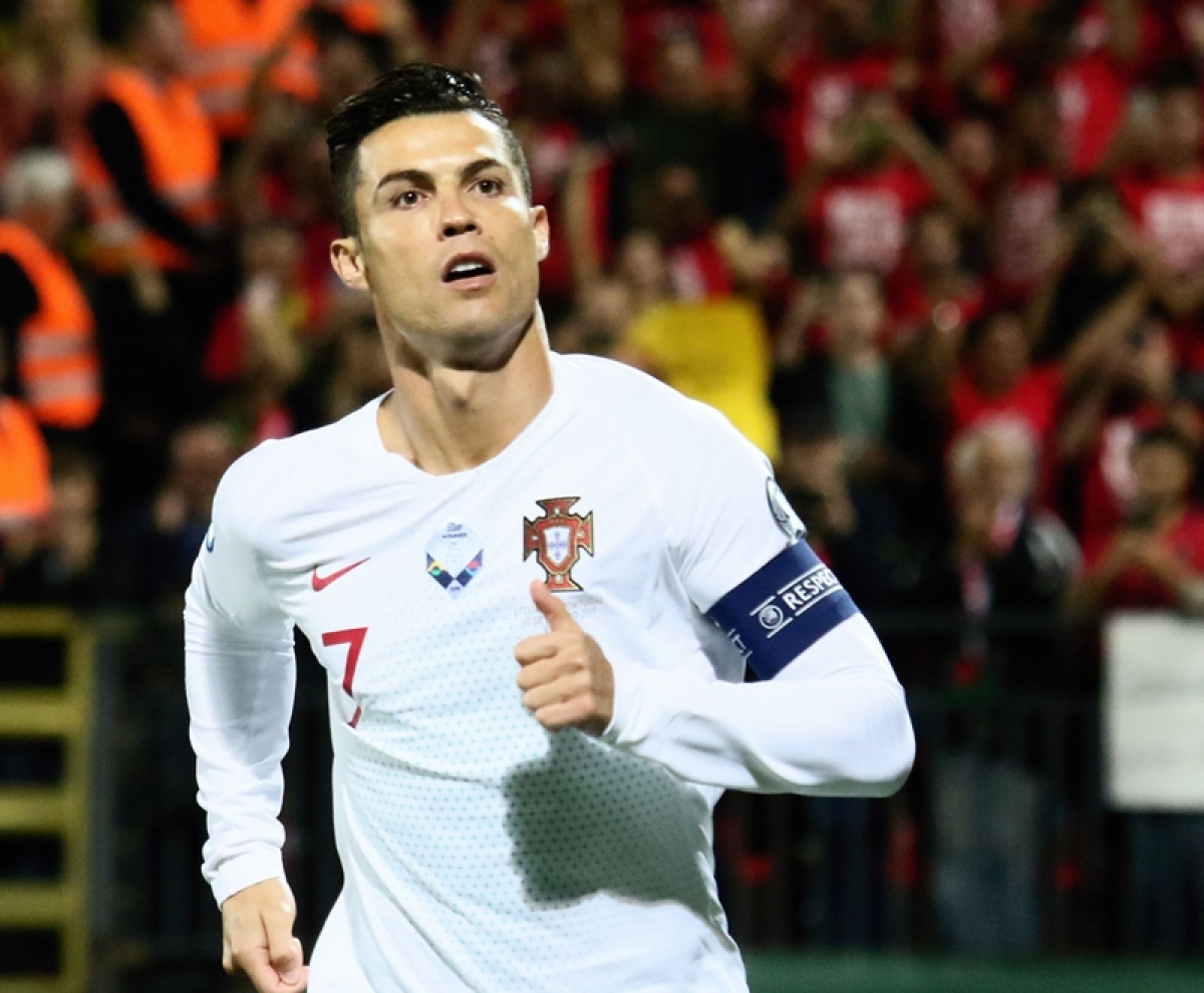 huge selection of b8a27 0a33a Cristiano Ronaldo scores four goals as Portugal crush ...