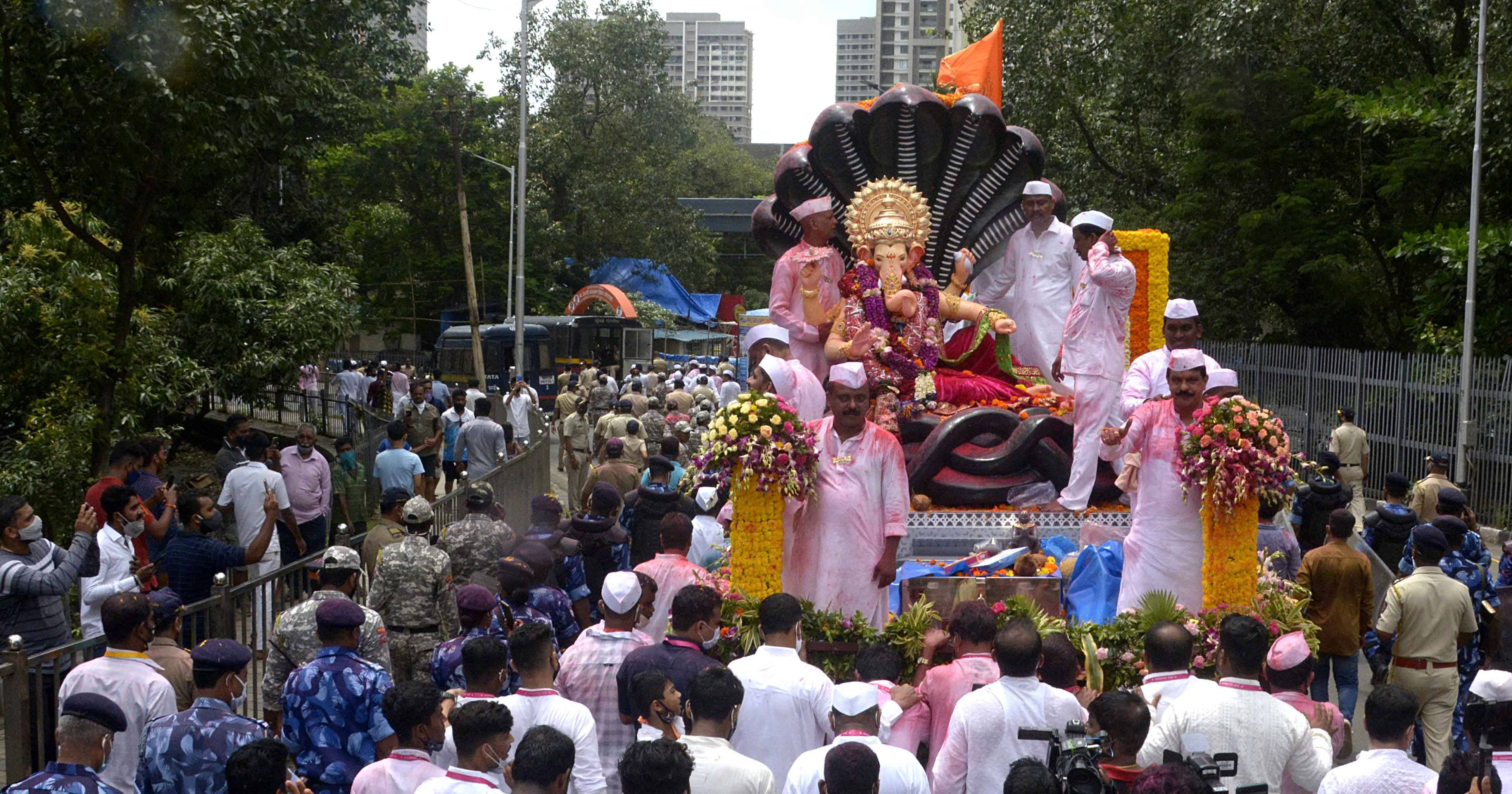Mumbai opts for quieter celebrations