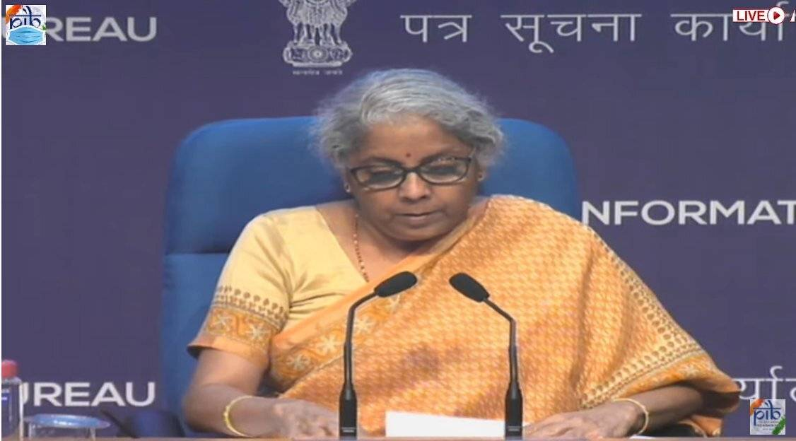 Finance Minister announces Rs 30,600 cr govt guarantee for Bad Bank