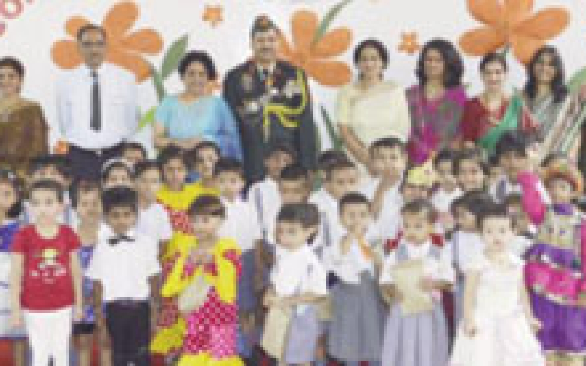 Farewell visit to Combat Army Pre-Primary School