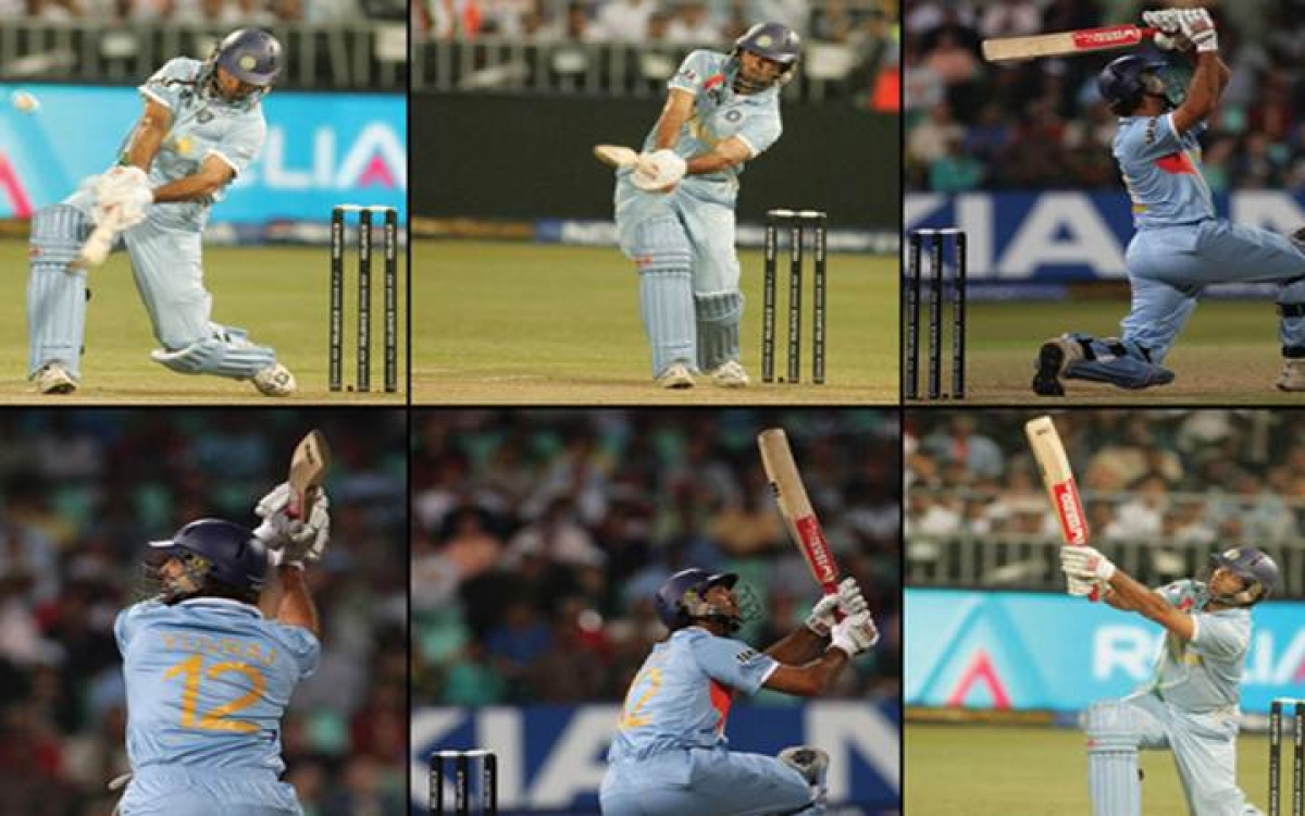 Image result for yuvraj six sixes
