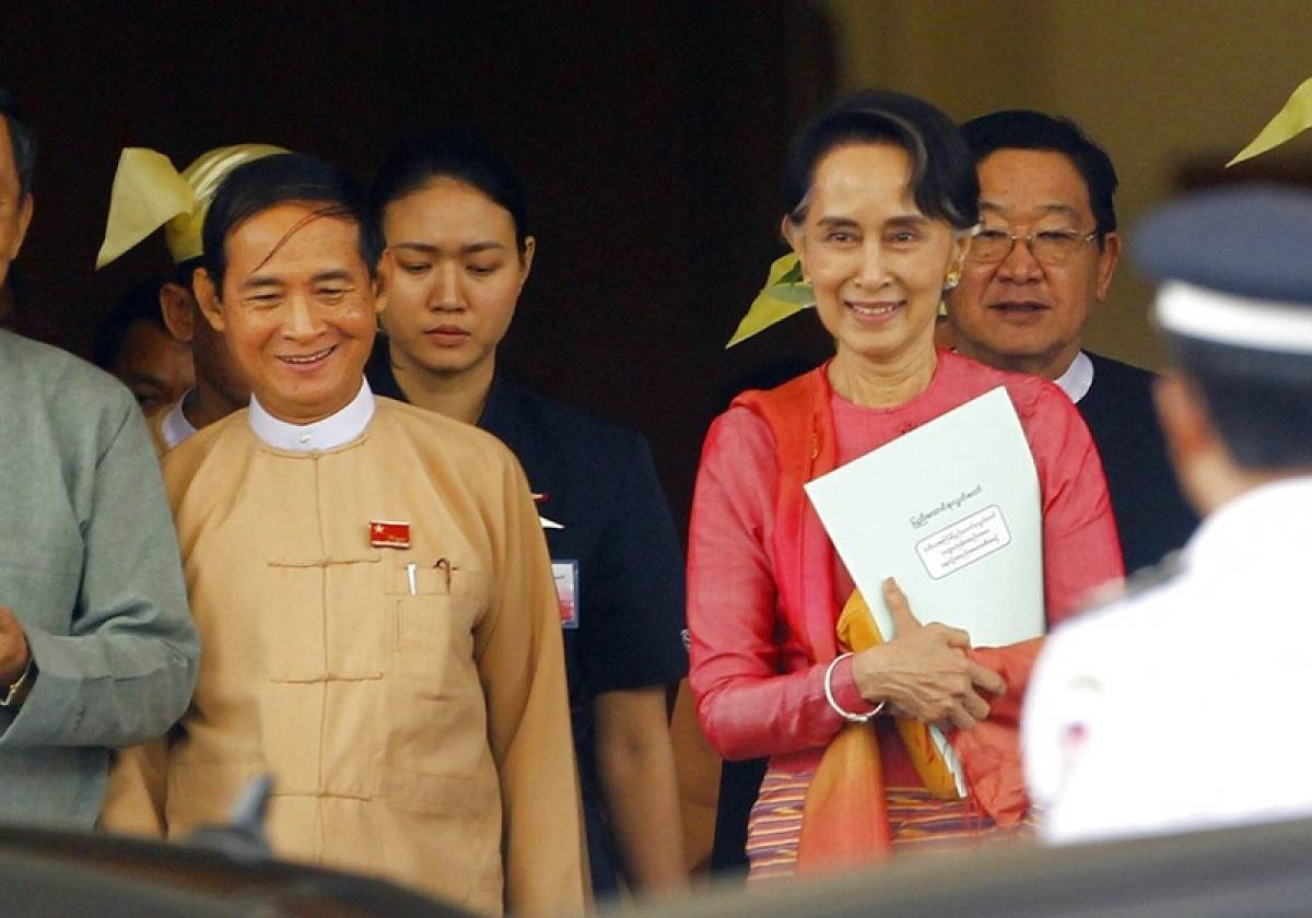 Aung San Suu Kyi loyalist Win Myint elected as Myanmar's new president