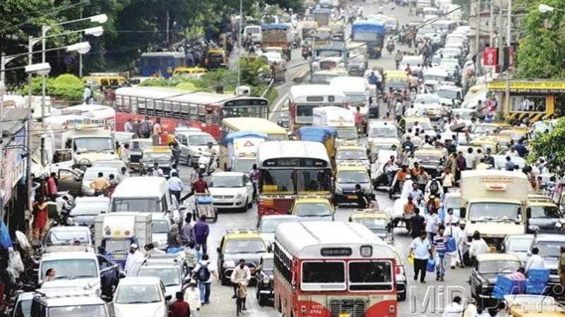 mumbai traffic twitter