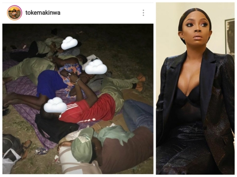 Toke Makinwa Berates INEC For Maltreatment Of Corps Members