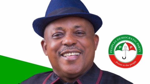 PDP Chairman,Prince Uche Secondus