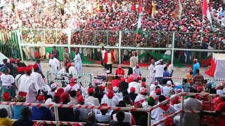 Atiku Takes Over Kano ... A Buhari Strong Hold with Massive Turn Out of Supporters