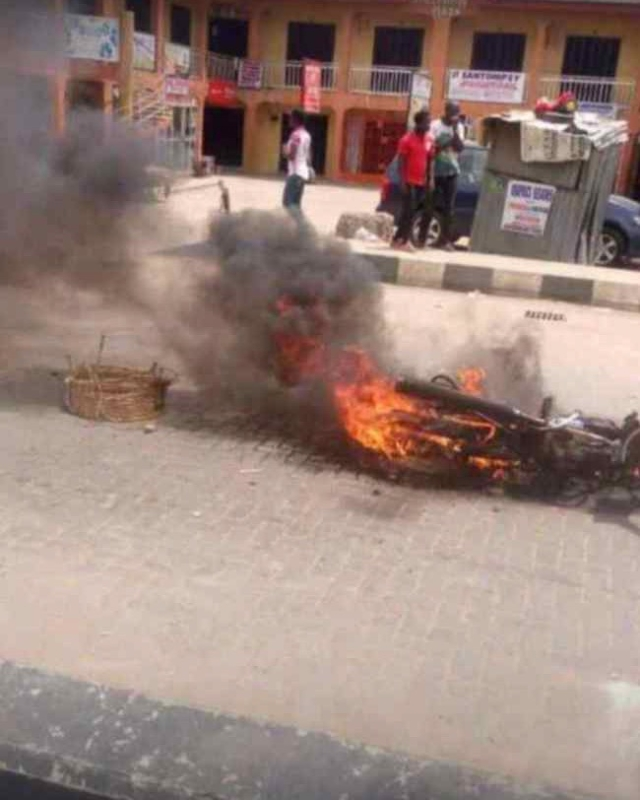 Election Violence in Ago Palace way, Okota Lagos