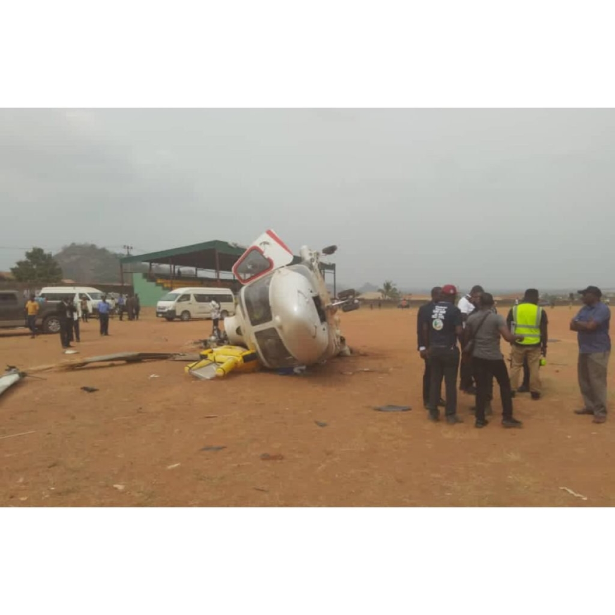 'Unusual Weather Conditions' Reason For Vice President Osinbajo's Helicopter Crash