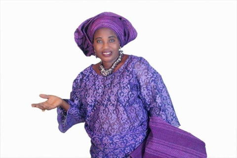 The late Actress, Funmilayo Ogunshola