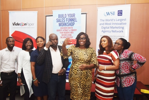 Nigerian Leading Digital Marketing Company WSI-Axon Holds Sales Funnel