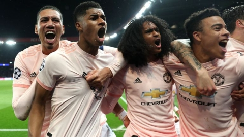 PSG 1 Man United 3: Red Devils Stun Their Host In Classic Come Back Win