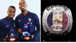 Paul Pogba Gifts World Cup Winning Teammates Champions Ring
