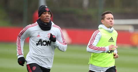 Martial, Herrera And Two Other United Stars Return Ahead Of Arsenal Clash