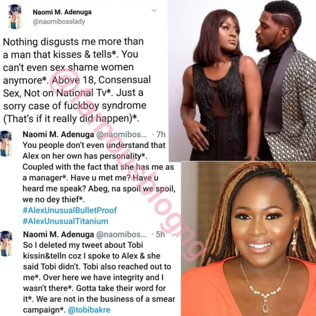 BBN Reunion: Why Ceec Was Unmoved By Alex's Tears